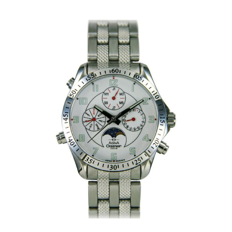 Adina Oceaneer Chronograph Sports Watch Nk139 S1Fb