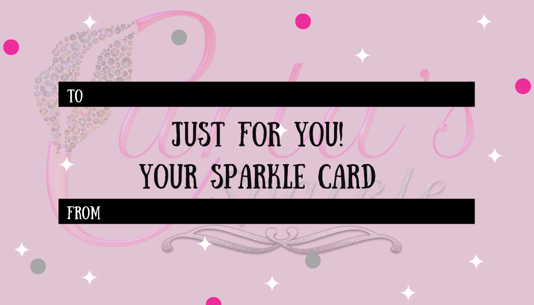 Carla's Sparkle Gift Cards