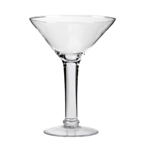 FUN TIME SIZED MARTINI GLASS - PICK UP ONLY MD LOCATION