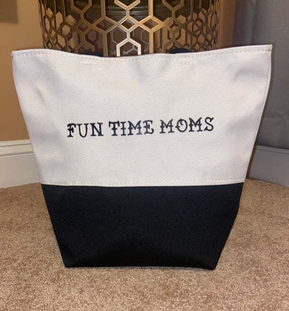 FUN TIME MOMS MULTI PURPOSE TOTE BAG