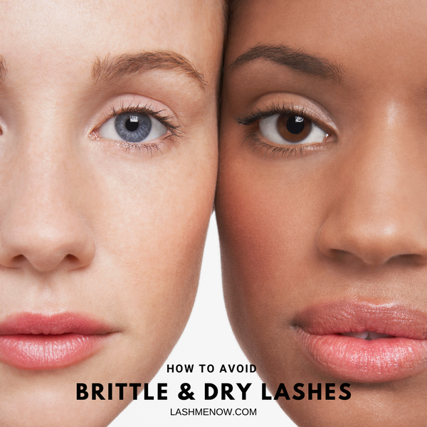 How to avoid brittle and dry eyelashes?