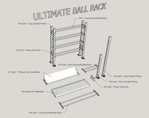 Ultimate Storage Rack #01 (Long Rack with Short Rack)