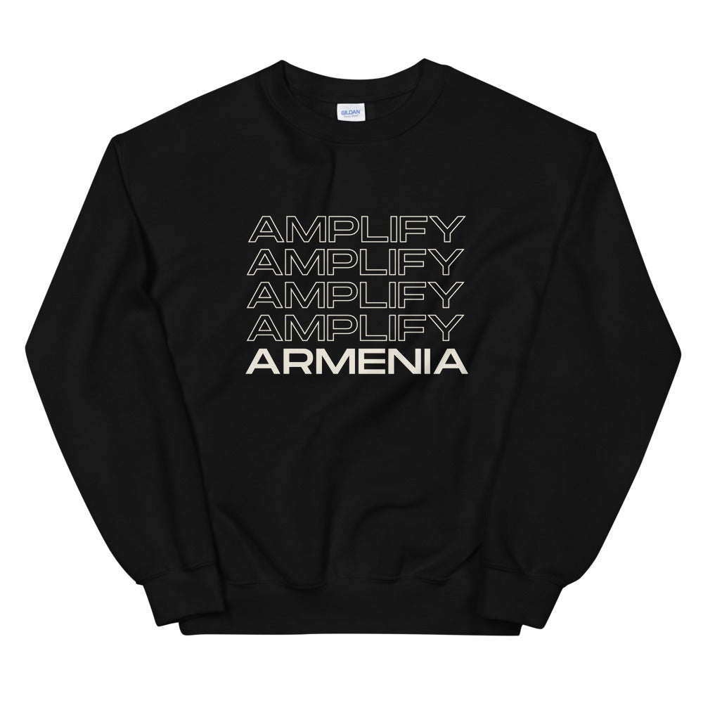 Amplify Armenian Voices Crewneck-Amplify Armenia