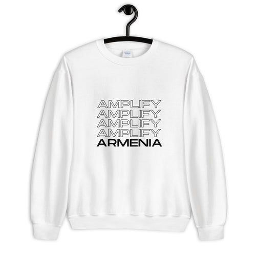 Amplify Armenian Voices Crewneck-Sweaters-Amplify Armenia