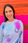 Embroidered Smiley Sweatshirt