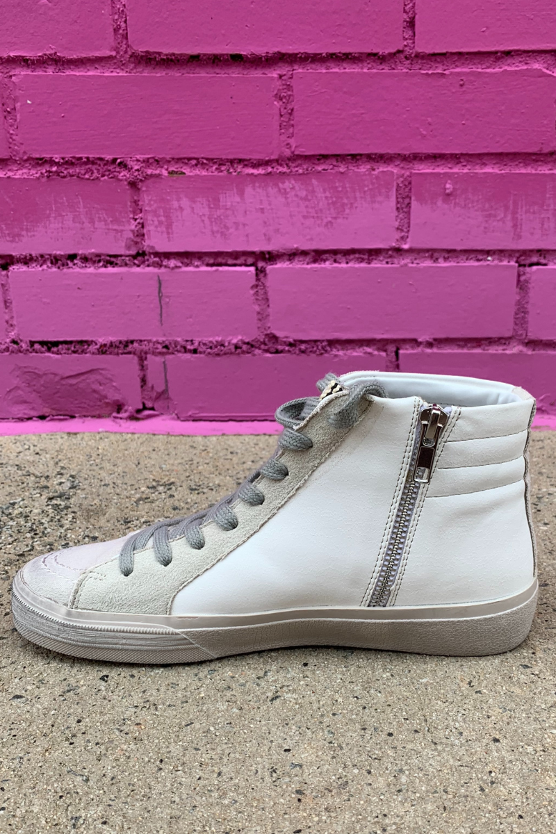 Roxanne High Top Sneaker - Off White