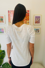 Gathered Hem Tee