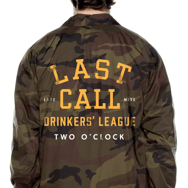 Last Call Drinker's League Coaches Jacket