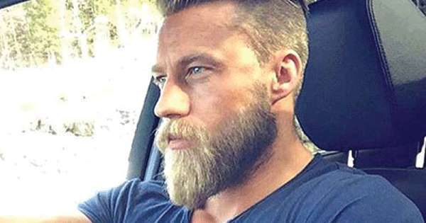 style barbe ducktail