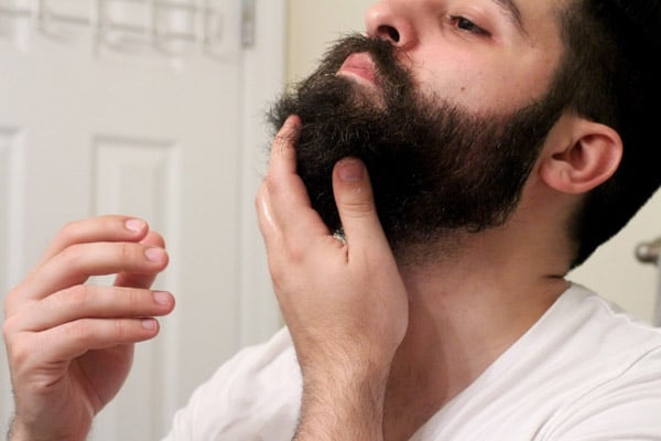 tailler barbe huile soin