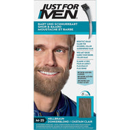 Teinture pour Barbe Just For Men Châtain Clair M25