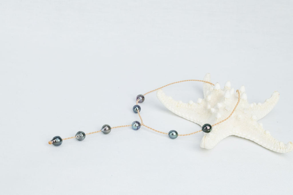 43cm Choker with Baroque Pearls