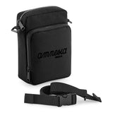 Amnesia Ibiza Black Logo Multi-Pocket Belt Bag-Amnesia Ibiza Store