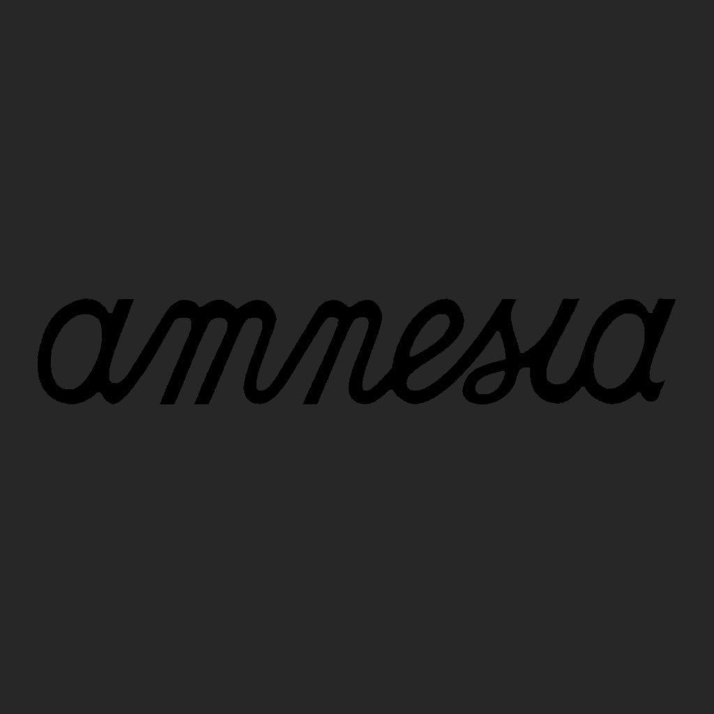 Amnesia Ibiza Black Logo Front And Back Print Men's Bomber Jacket-Amnesia Ibiza Store
