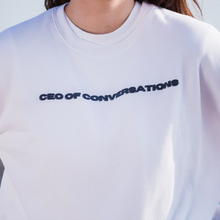 Load image into Gallery viewer, CEO Of Conversations Crewneck