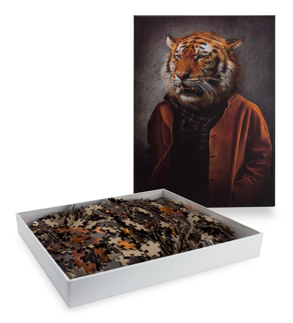 1000-Piece Cool Cat Jigsaw Puzzle