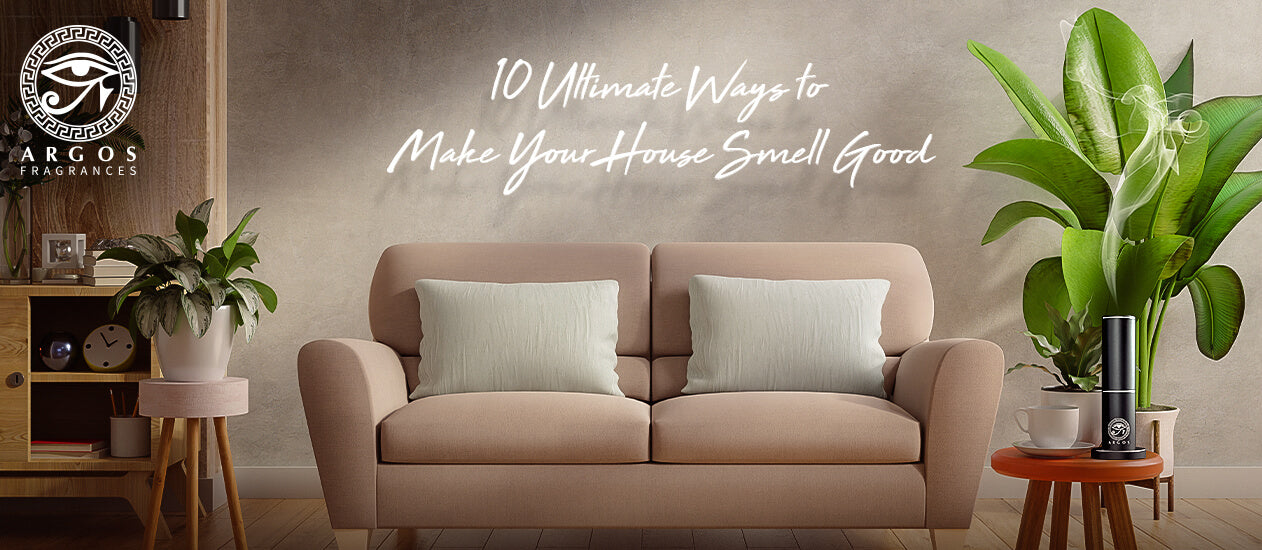 Follow the instruction to make your house smell good and fresh