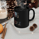 "11oz ""We The People"" Black Mug"