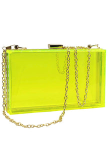 Banana Yellow Clutch