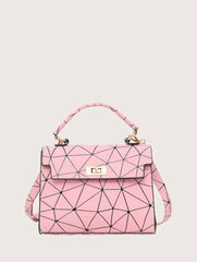 Too Pink Satchel
