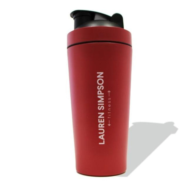 Lauren's STAINLESS STEEL SHAKER | RED
