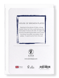 Ezen Designs - House of broken plates - Greeting Card - Back