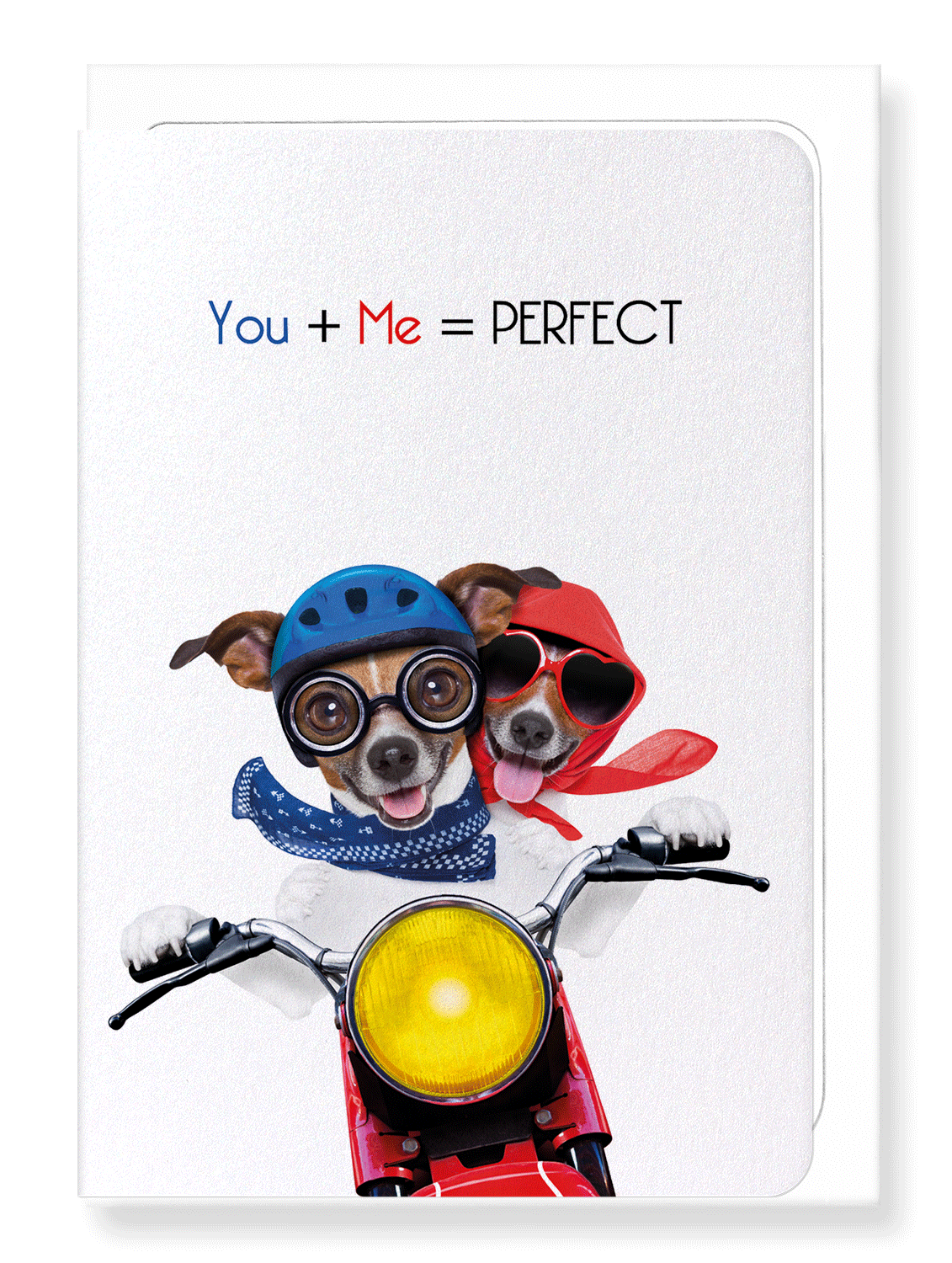 Ezen Designs - You + me = perfect - Greeting Card - Front