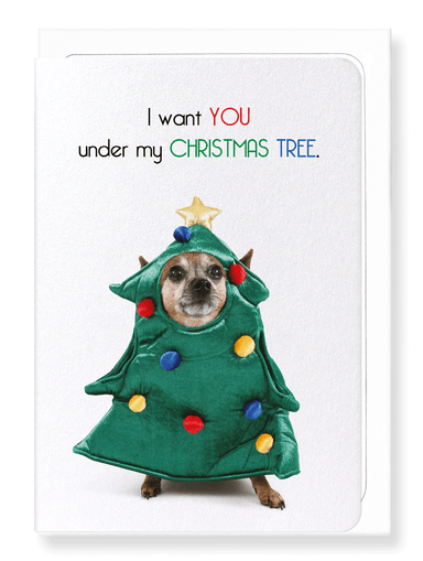 Ezen Designs - Under my christmas tree - Greeting Card - Front