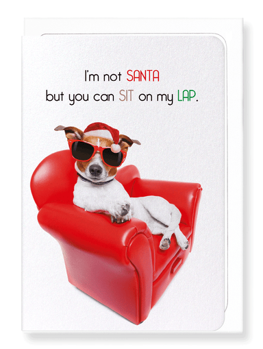 Ezen Designs - Sit on my lap - Greeting Card - Front