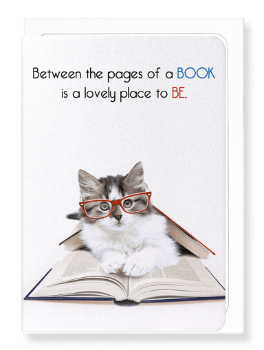 Ezen Designs - Between the pages - Greeting Card - Front