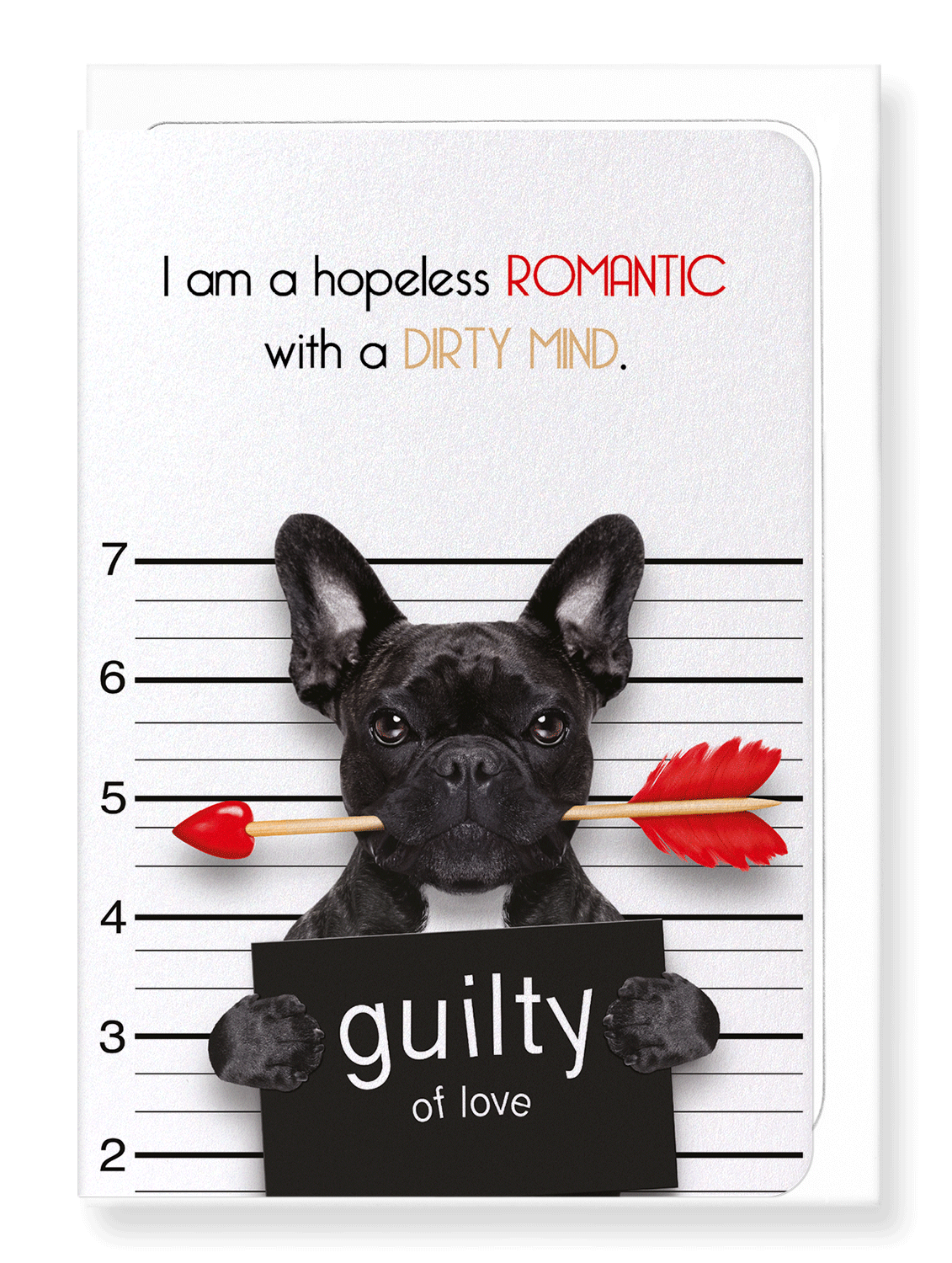 Ezen Designs - Hopeless romantic - Greeting Card - Front