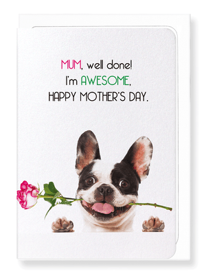 Ezen Designs - Mum, I'm awesome - Greeting Card - Front