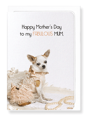 Ezen Designs - Fabulous mum - Greeting Card - Front