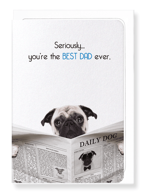 Ezen Designs - Best dad ever - Greeting Card - Front