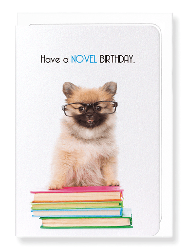 Ezen Designs - Novel birthday - Greeting Card - Front