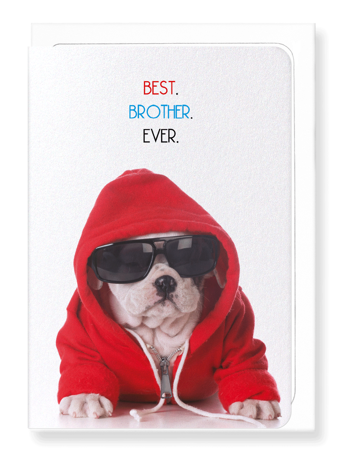 Ezen Designs - Best brother ever - Greeting Card - Front