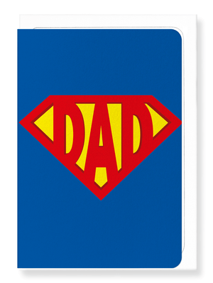 Ezen Designs - Super Dad - Greeting card - Front