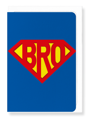 Ezen Designs - Super bro - Greeting card - Front