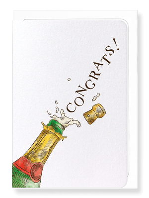 Ezen Designs - Congrats cork - Greeting card - Front