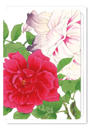 Ezen Designs - Rose - Greeting card - Front