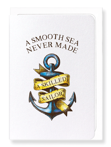 Ezen Designs - Skilled sailor - Greeting Card - Front