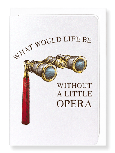 Ezen Designs - Life and opera - Greeting Card - Front
