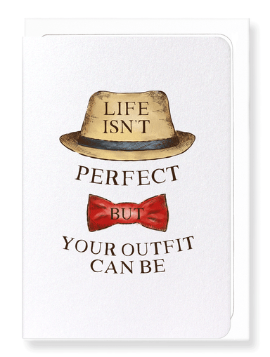 Ezen Designs - Perfect outfit - Greeting Card - Front