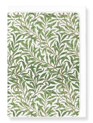 Ezen Designs - Willow boughs - Greeting Card - Front