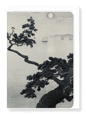 Ezen Designs - Pine at Akashi - Greeting Card - Front