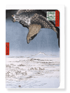 Ezen Designs - Fukagawa eagle - Greeting Card - Front