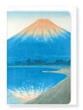 Ezen Designs - Dawn on lake yamanaka - Greeting Card - Front