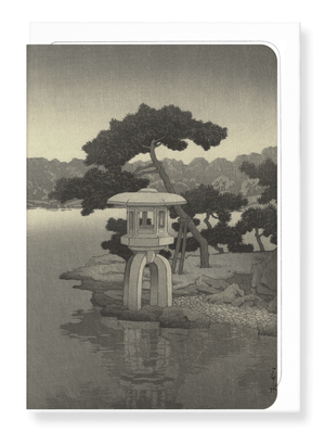 Ezen Designs - Kiyosumi garden (1938) - Greeting Card - Front