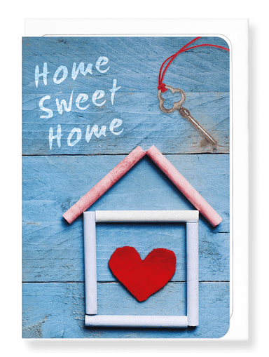 Ezen Designs - Home sweet home - Greeting Card - Front