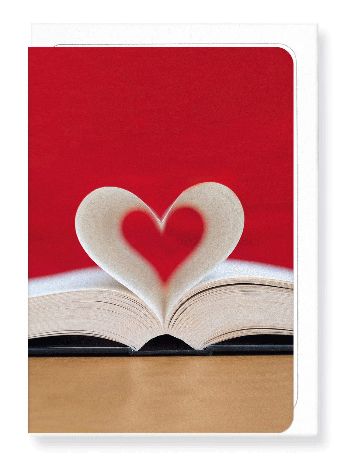 Ezen Designs - Page of heart - Greeting Card - Front